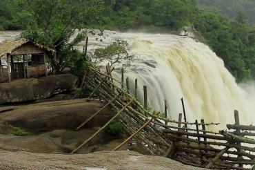 Athirapally Falls Overflow View