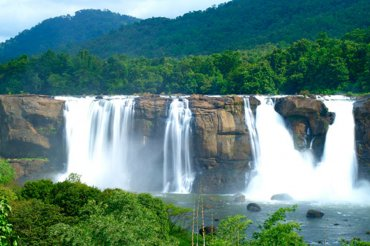 Athirapally Falls Front View