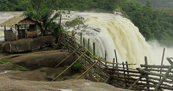 Athirapally Falls Overflow